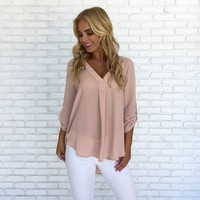 Pretty Pink Please Blouse
