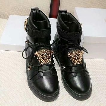 Versace Women Fashion Casual Short Boots Sneakers Sport Shoes