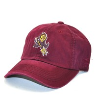 Arizona State Sun Devils Official NCAA Adult Adjustable Cotton Crew Hat Cap by Top Of The World