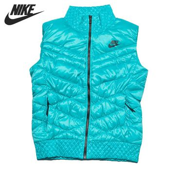 Original  NIKE AS NIKE CASCADE DOWN VEST Women's Down coat Vest Warm down jacket Sportswear