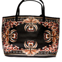 The Blood Flowers Vegan Leather Tote