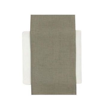 CHILEWICH Linen Napkins S/8 | Pale Grey