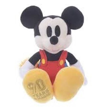 Disney Store Japan 90th 1937 Mickey Clock Cleaners Plush New with Tags