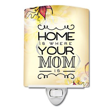 Home is Where Mom is Ceramic Night Light BB5416CNL