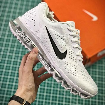 Nike Air Max 2019 Simple White Sport Running Shoes Sale
