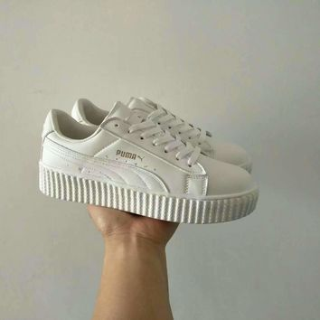 """Puma x Fenty Rihanna"" Women Fashion Casual Solid Color Plate Shoes Sneakers"
