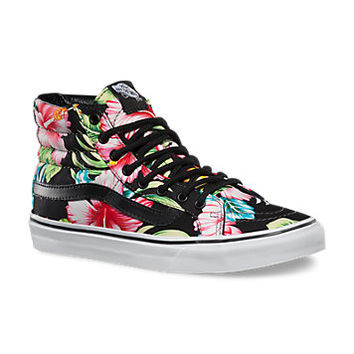 Hawaiian Floral SK8-Hi Slim | Shop Classic Shoes at Vans