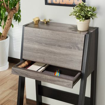 Corinna Transitional Leaning/Ladder Desk
