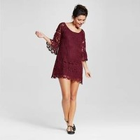 Women's Bell Sleeve Lace Peasant Dress - 3Hearts (Juniors')
