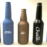 Chalk board bottle