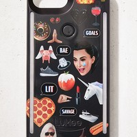 LuMee Duo Kimoji Collage iPhone 8/7/6 Plus Case | Urban Outfitters
