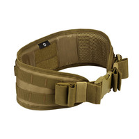 Men Army Military Camouflage MOLLE Girdle Tactical Outer Waist Belt Padded CS Belt Multi-Use Equipment Airsoft Combat Wide Belts