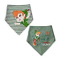 Peter Pan Bib Set for Baby - 2-Pack