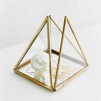 Magical Thinking Pyramid Mirror Box- Gold One