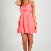 Doing My Thing Dress: Coral