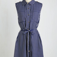 Americana Mid-length Sleeveless A-line Indie-pendence Day Dress