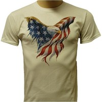 American Flag Bald Eagle U.S. Pride T-shirt