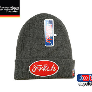 "smART-patches ""Fresh'"" Beanie Skully by lidstars headwear Surfer Surfing"