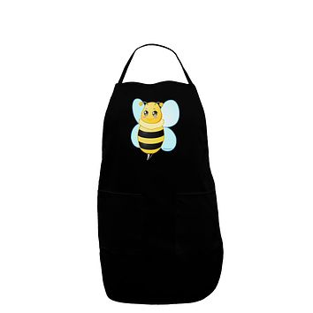 Cute Bee Dark Adult Apron