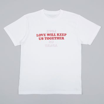 Darylstudio Love Will Reversible Tee - White