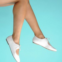 All Tied Up Shoes in White