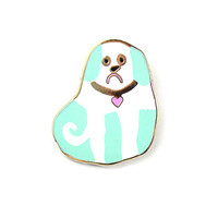 Martha Porter Dog Lapel Pin