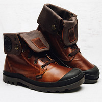 Baggy Leather Boot - Sunrise/Choc