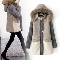 Cotton Women's Fashion Hats Tops Jacket [11834124879]