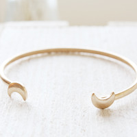 Double Luna Bangle
