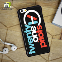 Twenty One Pilots Logo iPhone 6 Case by Avallen