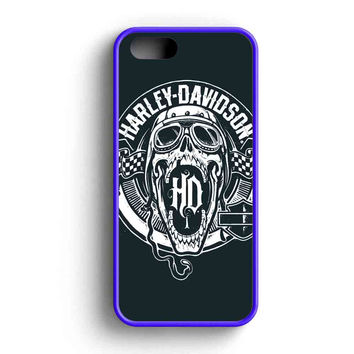 Harley Davidson Skull Ride  iPhone 5 Case iPhone 5s Case iPhone 5c Case