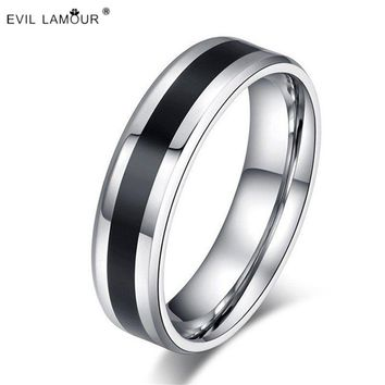 Fashion Titanium Steel Rings Couple His And Hers Promise Ring Sets Alliances Of Marriage Love Ring Prices In Euros Anel De Pedra