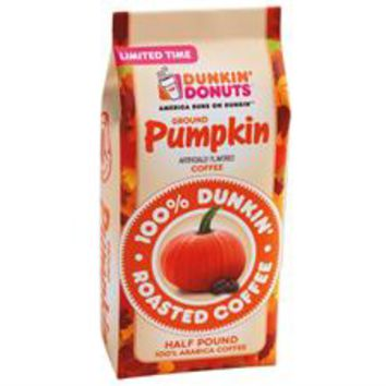 Pumpkin Ground Coffee, 8-oz at DunkinDonuts Shop