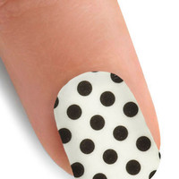 Point the Way Nail Stickers in Polka Dot | Mod Retro Vintage Cosmetics | ModCloth.com