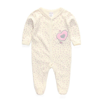 Baby Clothing 2016 New Newborn Baby Boy Gril Romper Clothes Long Sleeve Infant Product