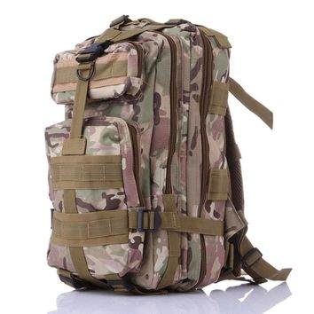 Tactical MOLLE Backpack For Mountaineering Hunting Camping Hiking