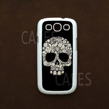 Galaxy S3 Case  Skull Samsung S3 Cover Best Samsung by DzinerCases