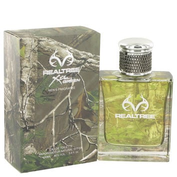 Realtree Cologne by Jordan Outdoor 3.4 oz Eau De Toilette Spray