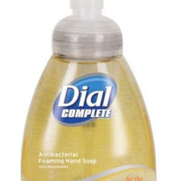 Dial Complete 1210130 Antimicrobial Foaming Kitchen Hand Soap with Tabletop Pump, 7.5oz Bottle (Pack of 8)