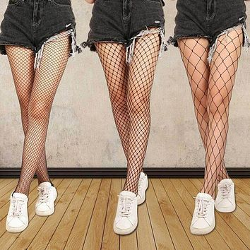 f936570526a Hollow Out Sexy Pantyhose Black Women Tights Stocking Fishnet St