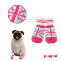 Union Jack Dog Socks