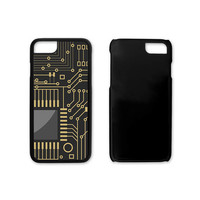 Computer Chip Custom iPhone Case, tech lover, geekery, gifts for him, iPhone 4, 4s, 5, 5s, 6, 6s, 6 Plus, 6s Plus, 7, 7 Plus Case