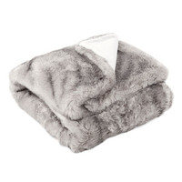 Striped Fur Throw | ZARA HOME United States of America