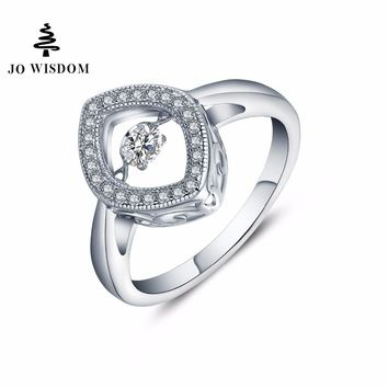 JO WISDOM New Arrival Rings Engagement Wedding Rings Silver Rings Costume jewelry rings