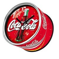 Creative Coca cola Cans Clock Wall Clock Magnets In Refrigerator Table Clock Design Desk Gift