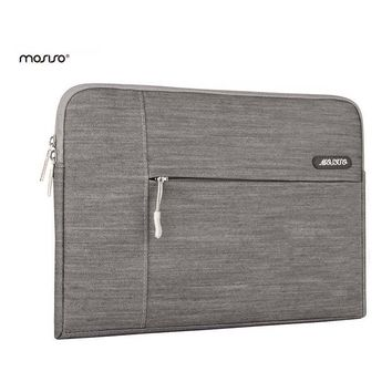 MOSISO Zipper Laptop Sleeve Bag For Macbook Pro 13 Air 11 12 14 15inch Notebook Carrying Bags Briefcase Handbag For Asus/HP Hot