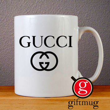 Gucci Logo Ceramic Coffee Mugs