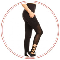 REDUCED! - Bella Mesh Leggings