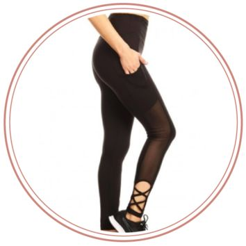 Bella Mesh Leggings
