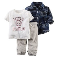 Carter's ''Little Genius'' Top & Pants Set - Baby